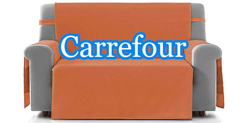Carrefour vende cubresofás muy prácticos de muchas marcas