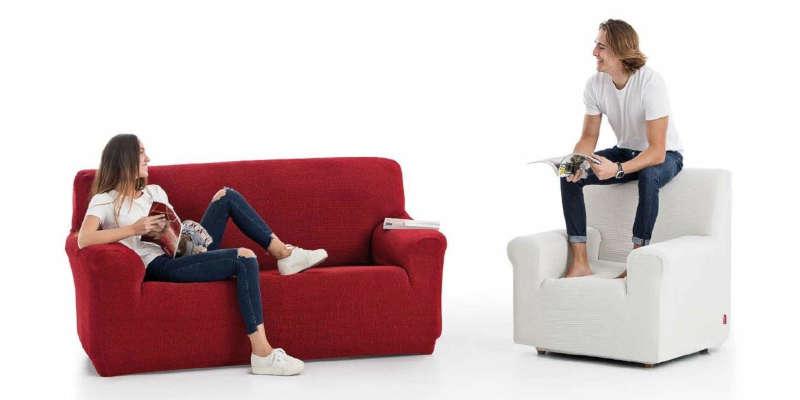 Cubre sofás para sofás de varias plazas TEXTIL HOME funda fundas sofa sofás cubresofás barato baratos barata baratas comprar precio precios