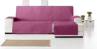Funda cubre sofá chaise longue