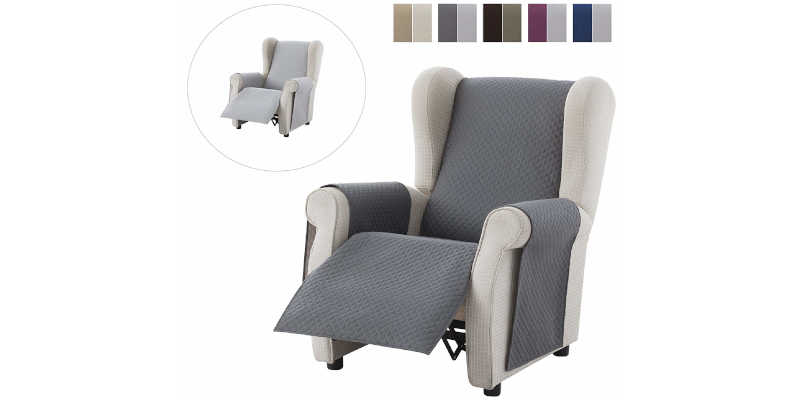 Medidas de cubre sofás relax Textil Home precio precios comprar barato baratos barata baratas