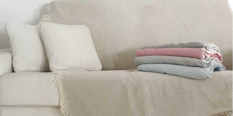 Foulard cubre sofá Sanz Martí
