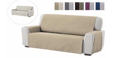 Funda cubre sofá de 3 plazas ADELE TEXTILHOME barata baratas precio precios comprar
