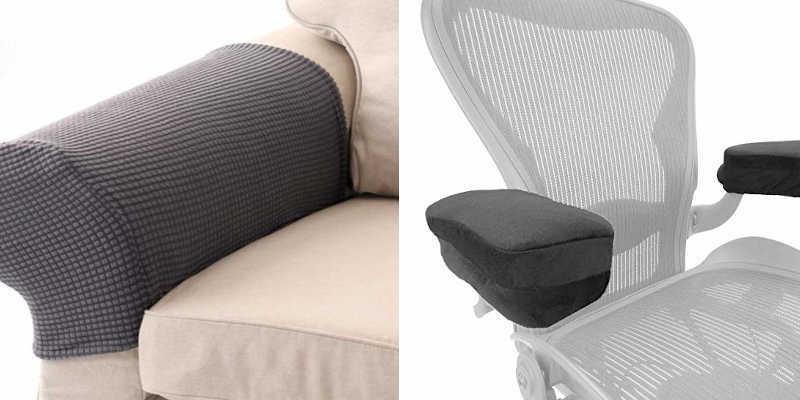 Fundas para reposabrazos de sofás y sillas